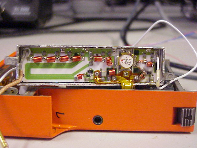 Power amplifier of the SE-20 transceiver